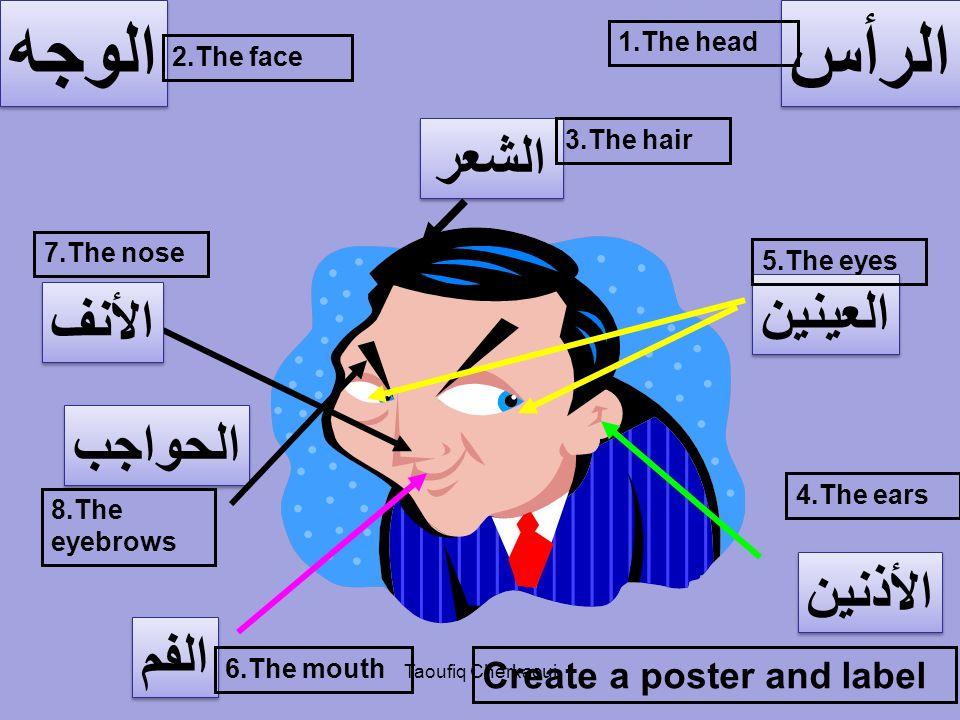 Listen and write إِسمع وَ أُكْتُب Taoufiq Cherkaoui