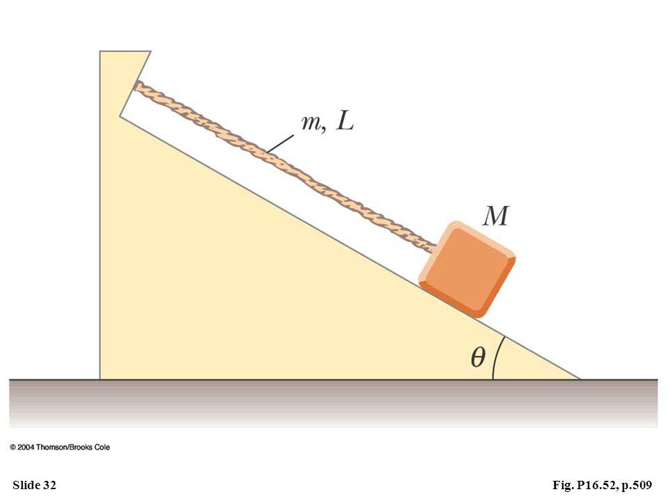 Slide 32Fig. P16.52, p.509