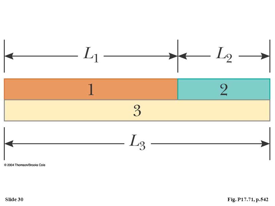 Slide 30Fig. P17.71, p.542