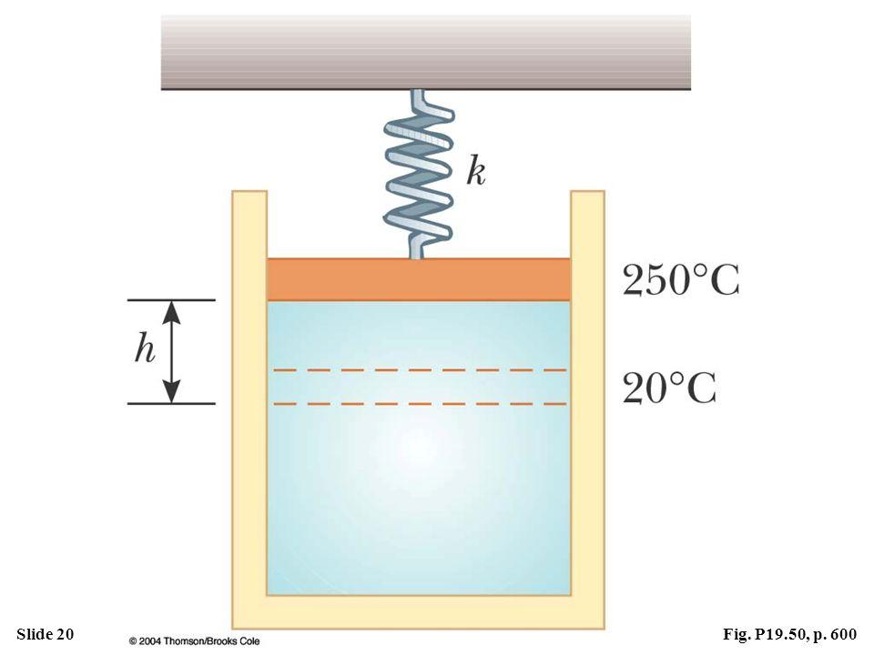 Slide 20Fig. P19.50, p. 600
