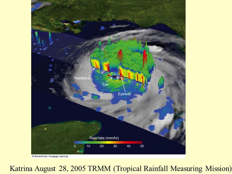 Katrina August 28, 2005 TRMM (Tropical Rainfall Measuring Mission)