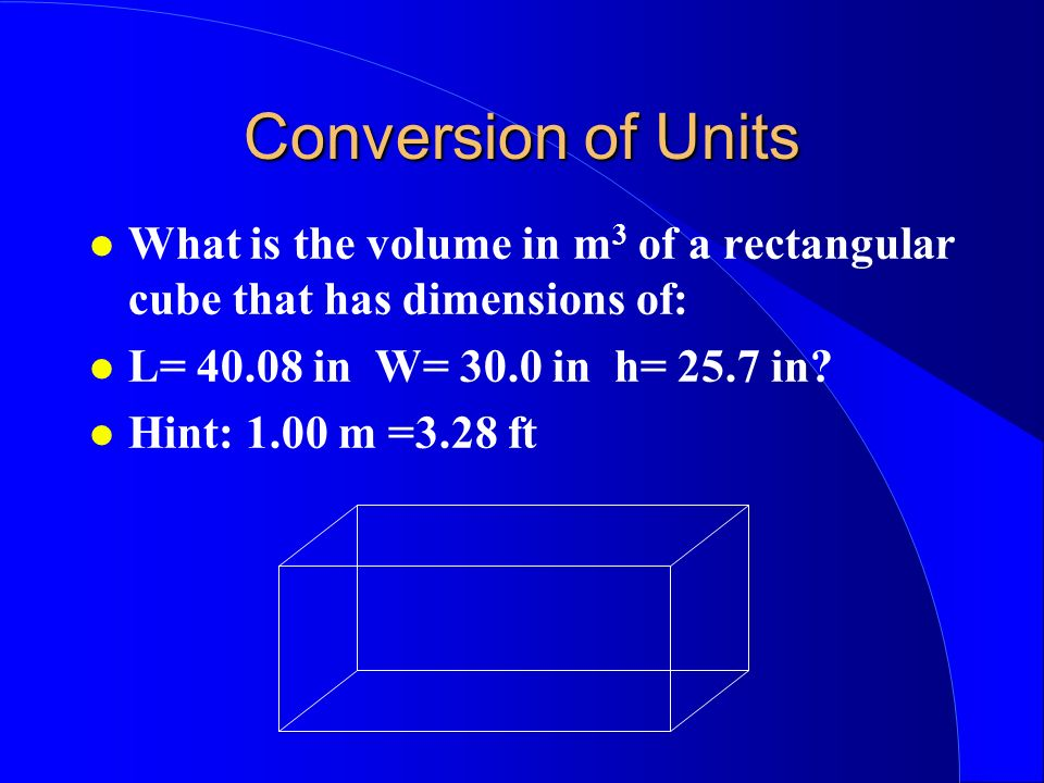 Conversion of Units How many miles per hour is 40 m/s?