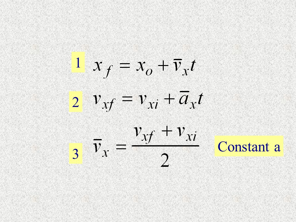 1 2 3 Constant a