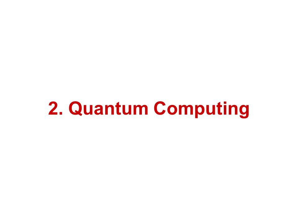 2. Quantum Computing