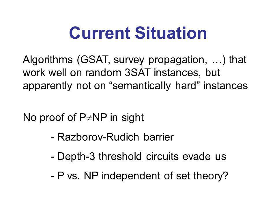 A.2002: Any quantum algorithm needs (N 1/5 ) queries to decide w.h.p.