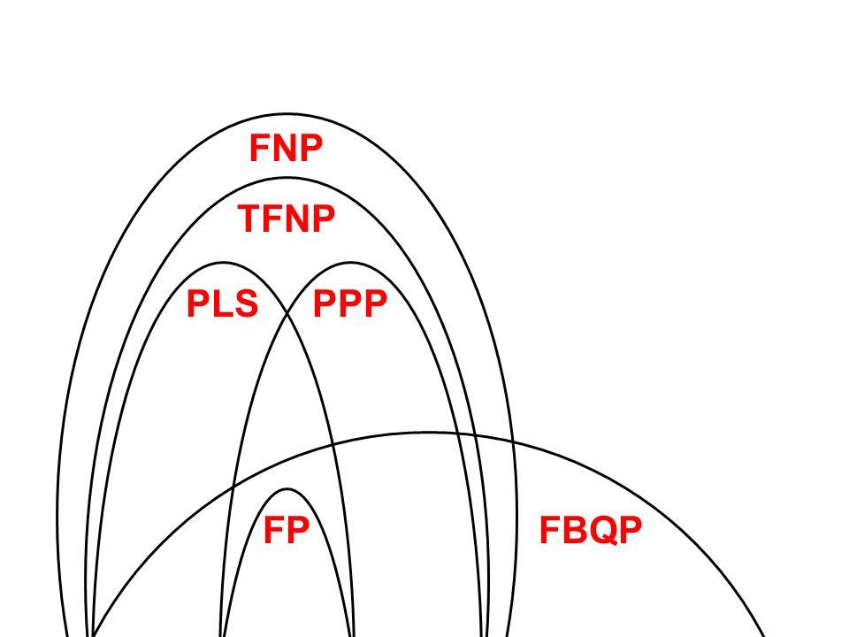 FNP TFNP PLSPPP FPFBQP