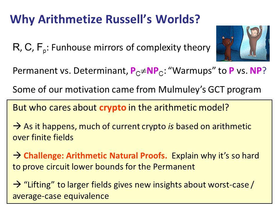 Handwaving Idea Theorem: CIRCUITSAT F is NP F -complete.