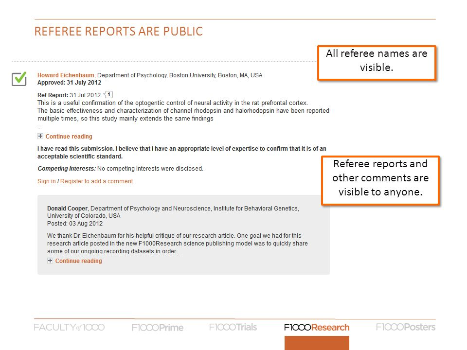 REFEREE REPORTS ARE PUBLIC All referee names are visible.