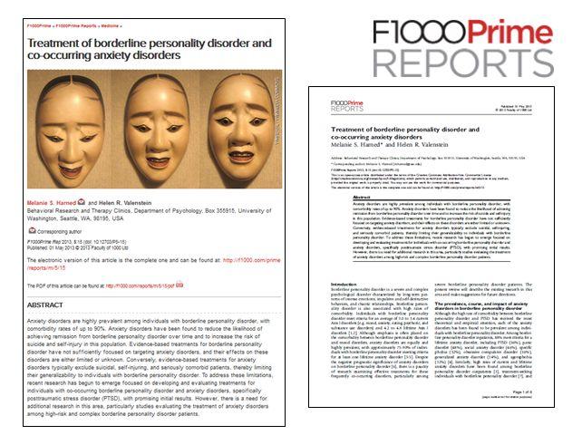 F1000PRIME REPORTS