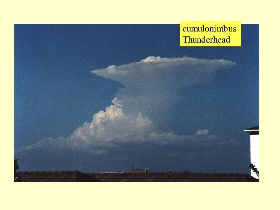 cumulonimbus Thunderhead