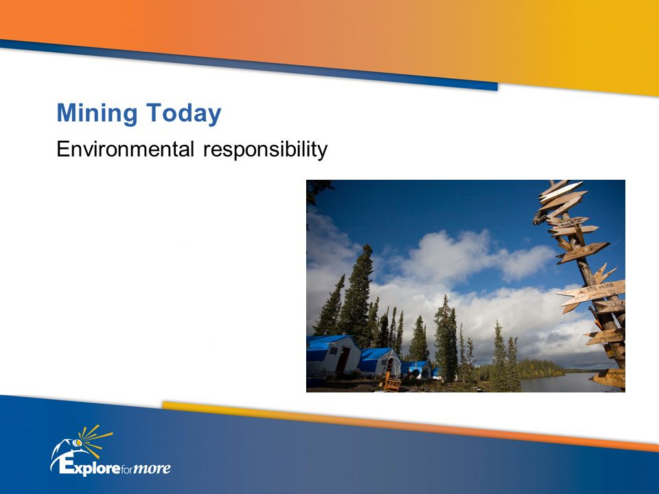 Mining Today Environmental responsibility