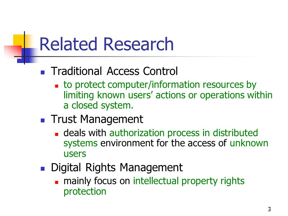 14 A0: w/ Rights-related Authorization Rule Subjects (S), objects (O) and objects with rights (O + R) can be associated with certain attributes (At).