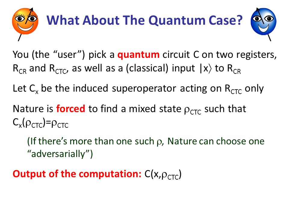 What About The Quantum Case.