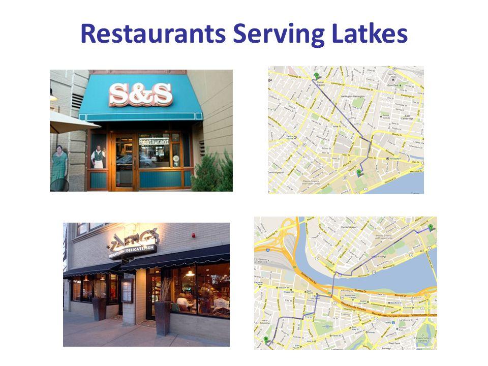 Restaurants Serving Latkes