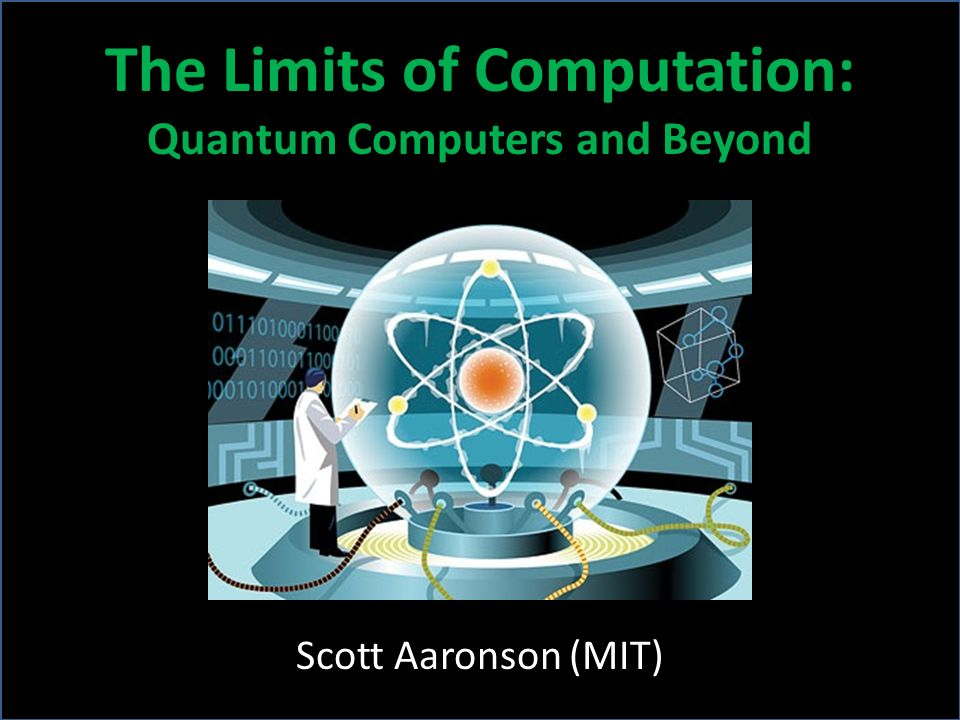 Limitations of Quantum Computers [BBBV 1994] explained why quantum computers probably dont offer exponential speedups for the NP-complete problems [A.