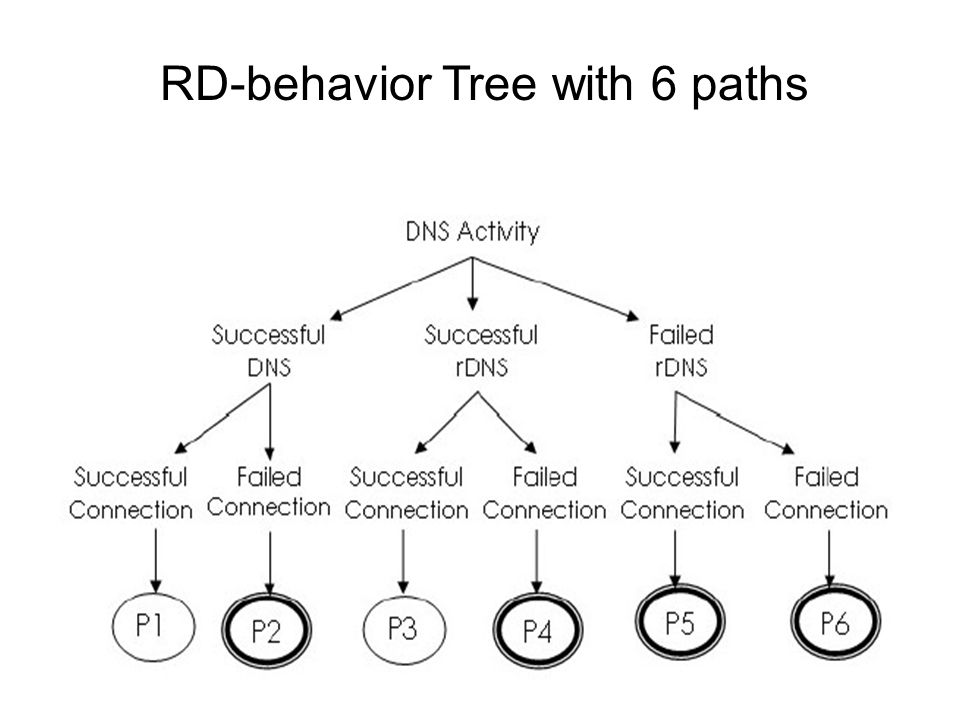 RD-behavior Tree with 6 paths