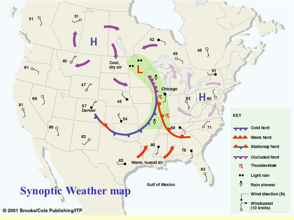 Synoptic Weather map