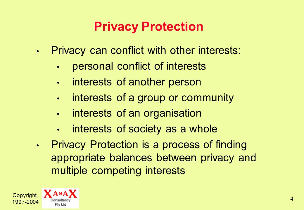 Copyright, 1997-2004 35 Key Features of a PIA – 2 of 2 Is performed by the proposals sponsor not by a privacy regulatory agency not fully delegated to a consultant or contractor Commences early, to maximise involvement, avoid suspicion, and minimise re-work costs Involves multiple phases, such that shared understanding increases, and with it commitment Reduces the likelihood of later public opposition and misinformation campaigns, and, even if they are conducted, reduces their credibility