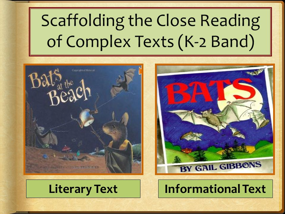 Literary TextInformational Text
