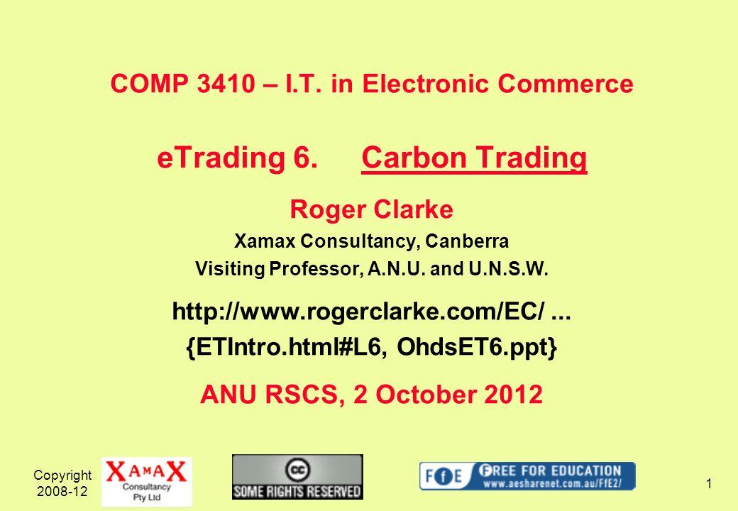 Copyright 2008-12 2 http://ec.europa.eu/environment/climat/emission/review_en.htm