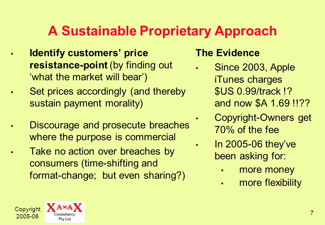 Copyright 2005-06 18 Strategic Opportunities – 4.