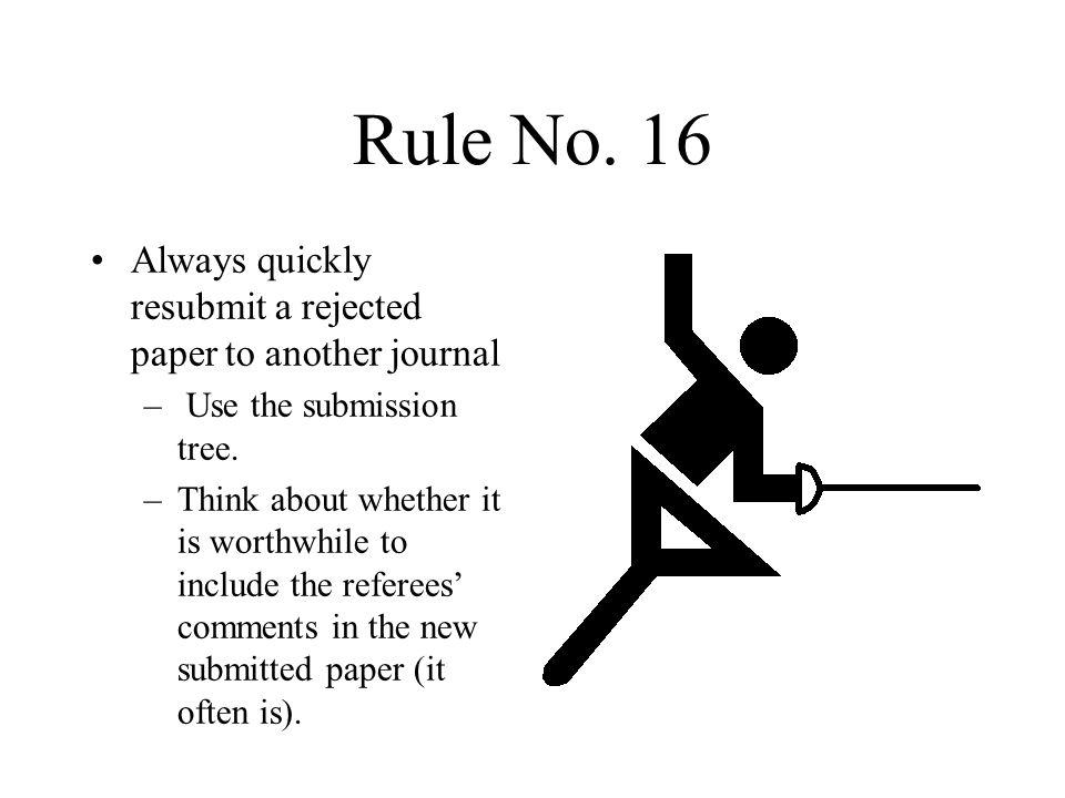 Rule No.