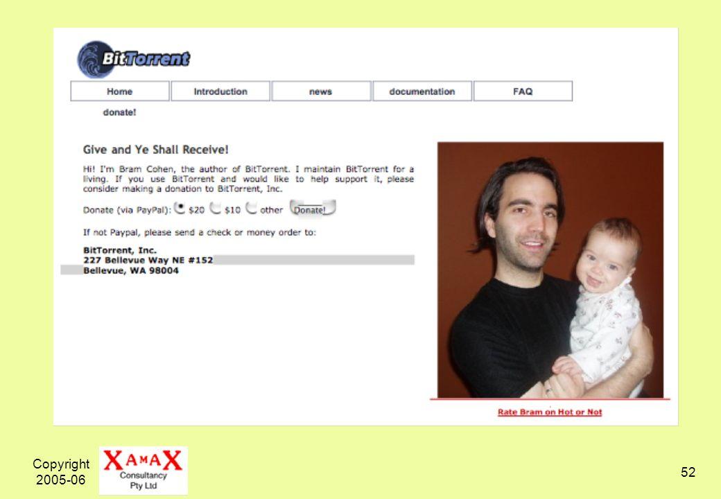Copyright 2005-06 52
