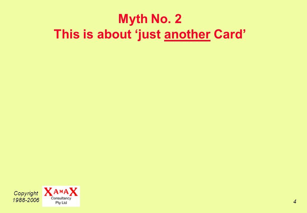Copyright 1988-2006 5 Myth No.