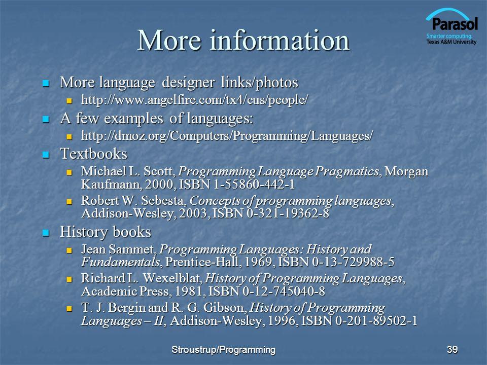 More information More language designer links/photos More language designer links/photos http://www.angelfire.com/tx4/cus/people/ http://www.angelfire