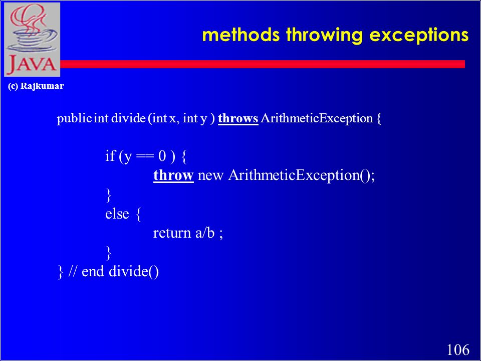 105 (c) Rajkumar Exceptions (contd)...