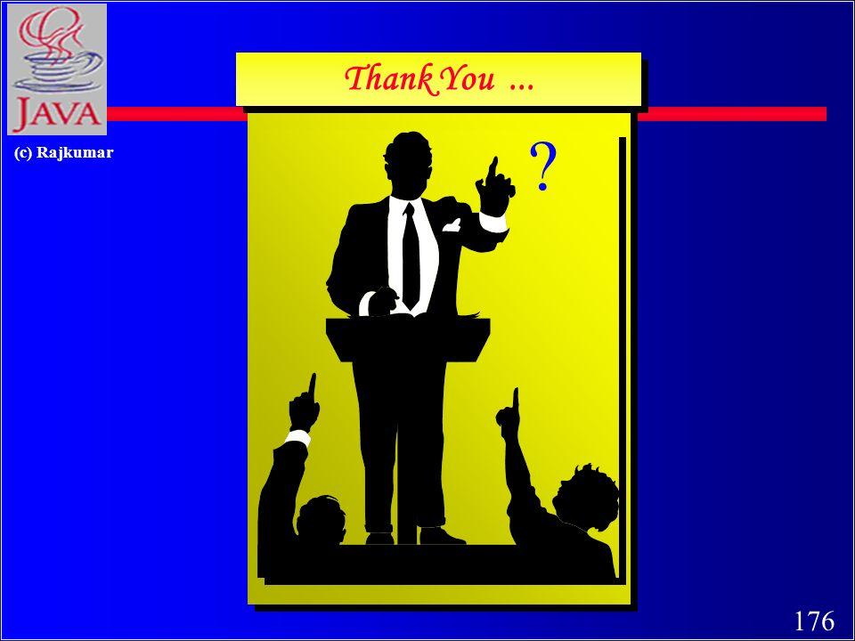 176 (c) Rajkumar Thank You...