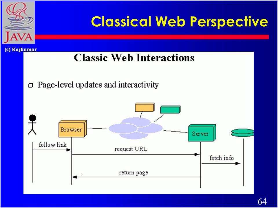 64 (c) Rajkumar Classical Web Perspective