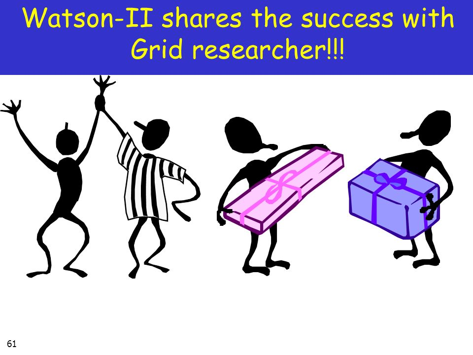 61 Watson-II shares the success with Grid researcher!!!