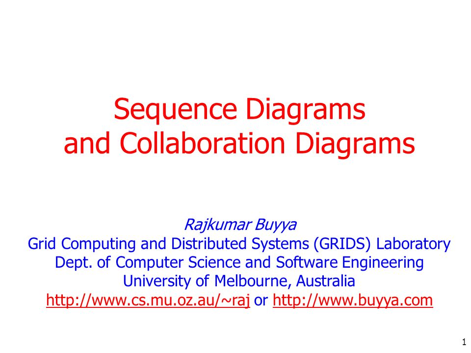 2 Introduction/Agenda Pieces of UML: Structural Diagrams Class and object diagram Component and Deployment Diagram Behavioural Diagrams Use Case Diagram Activity Diagram Sequence Diagram Collaboration Diagram State Chart Diagram Learned so far: Use case diagram, class and object diagram, class relationships Today we will focus on: Sequence Diagram Collaboration Diagram