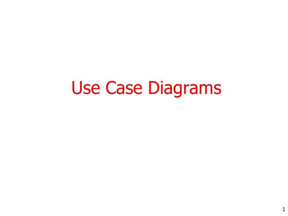 1 Use Case Diagrams