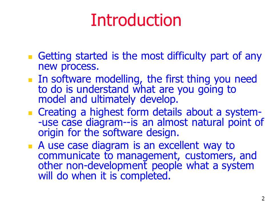 13 Scenarios Each scenario has a sequence of steps.