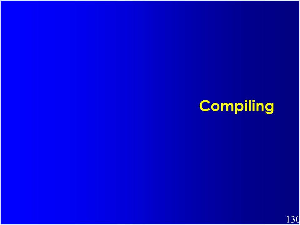 130 Compiling