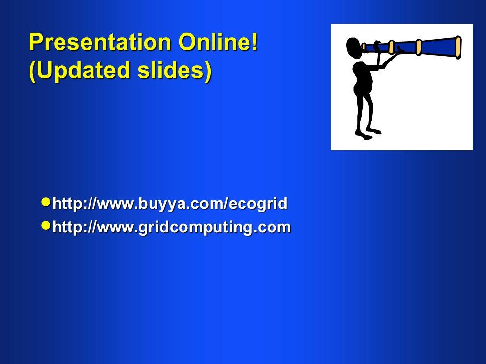 Presentation Online.