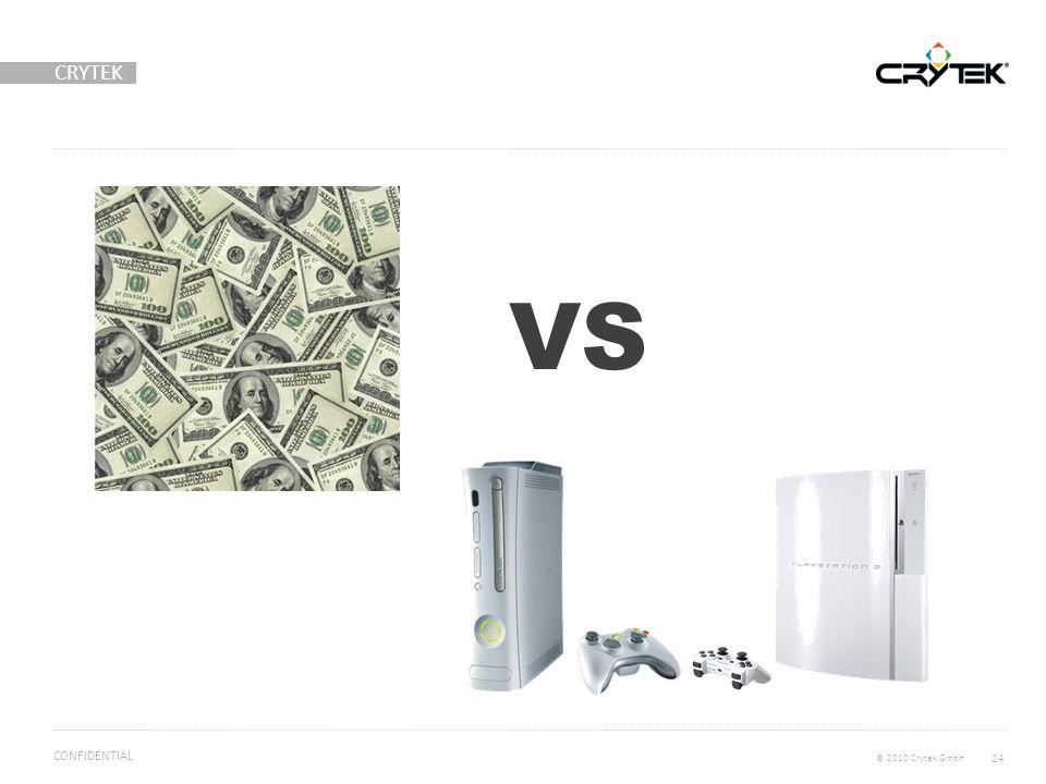 CRYTEK © 2010 Crytek GmbH CONFIDENTIAL 24 VS