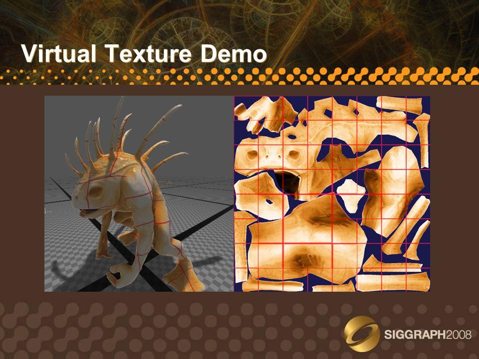 Virtual Texture Demo