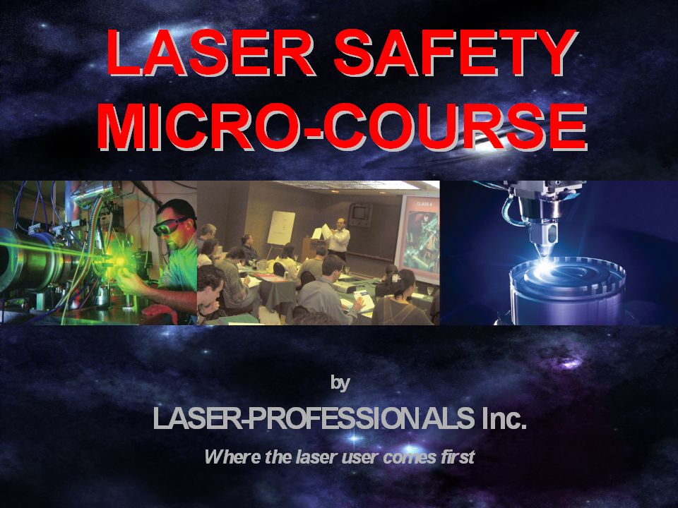 CLASS 1 Safe during normal use Incapable of causing injury Low power or enclosed beam CLASS I Laser Product Label not required May be higher class during maintenance or service Nd:YAG Laser Marker Laser-Professionals.com
