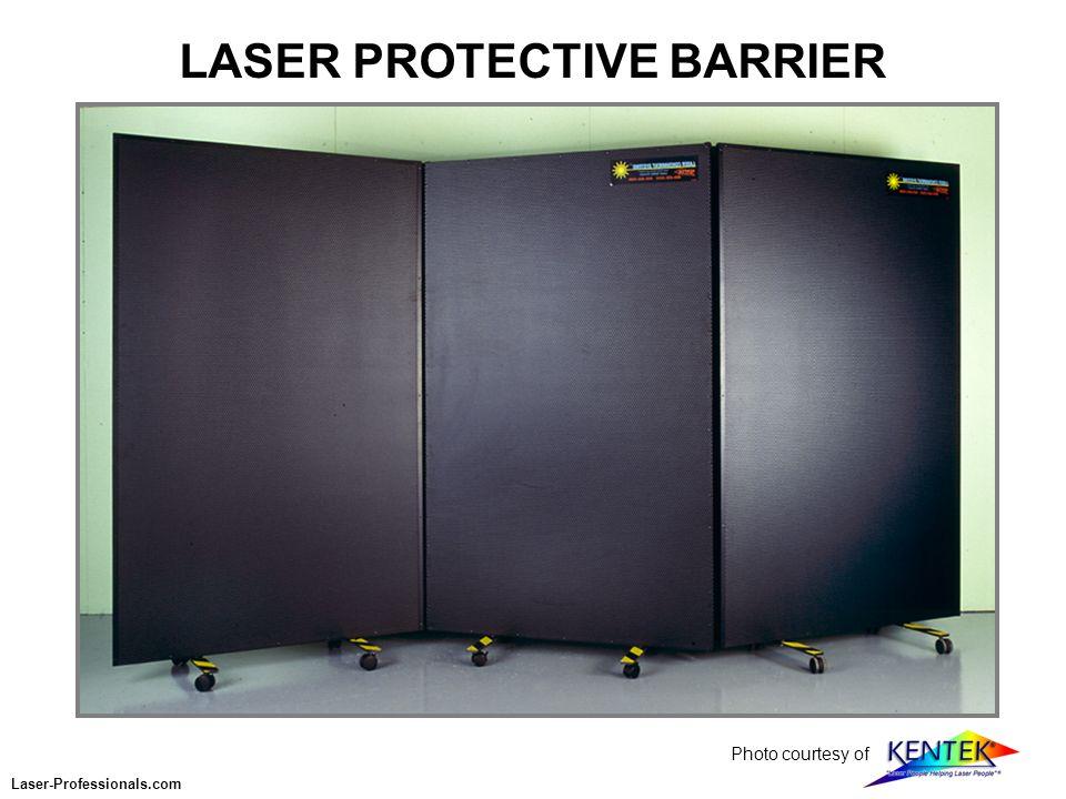 LASER PROTECTIVE BARRIER Photo courtesy of Laser-Professionals.com