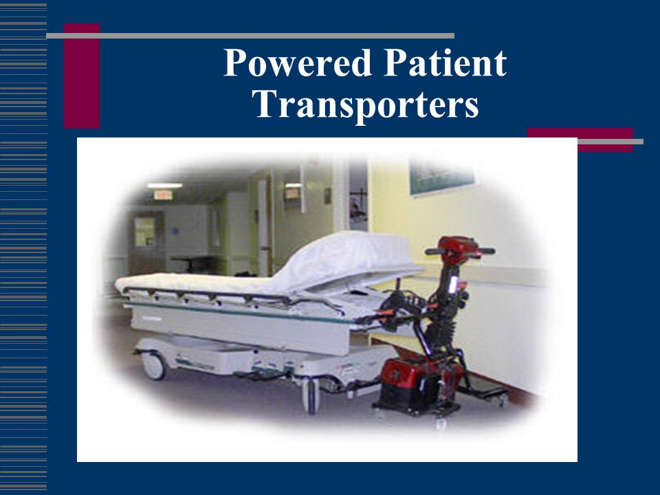 Powered Patient Transporters