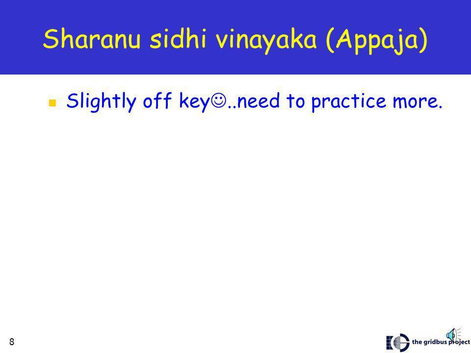 7 Sarali Swaralu Date: Aug 22, 2004: 8.35pm
