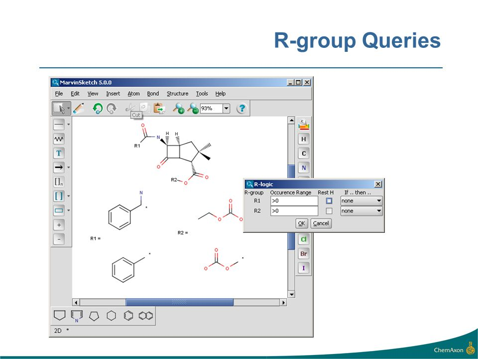 R-group Queries