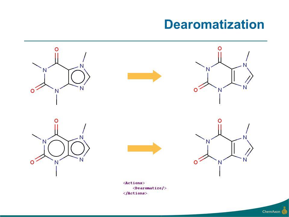 Dearomatization