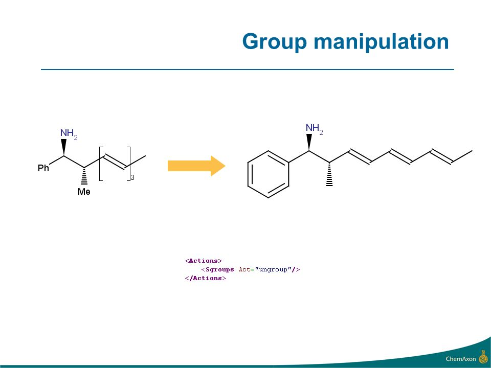 Group manipulation