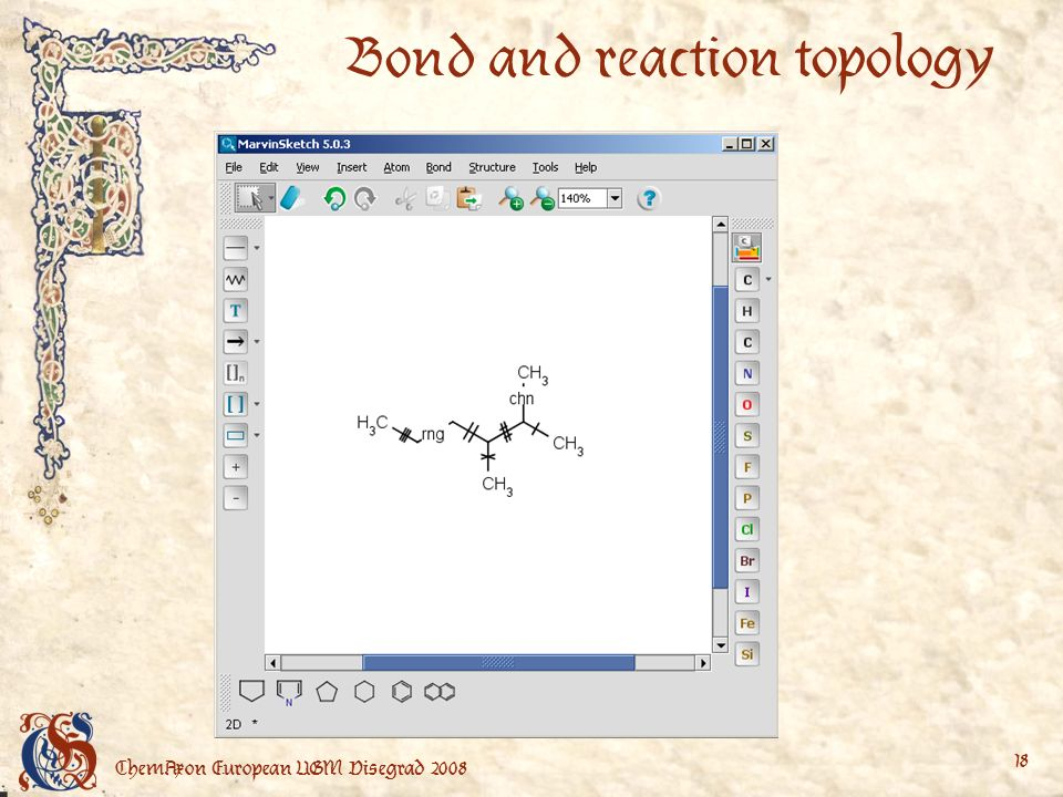 ChemAxon European UGM Visegrad Bond and reaction topology