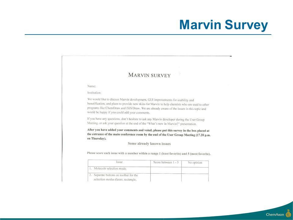 Marvin Survey