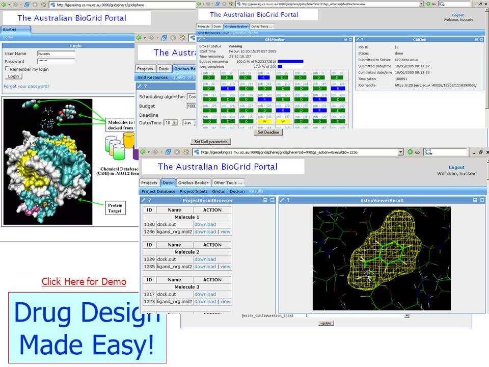 41 Drug Design Made Easy! Click Here for Demo